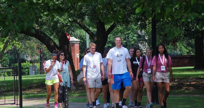orientation group tour