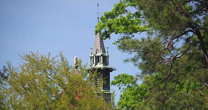 Building on Huntingdon campus