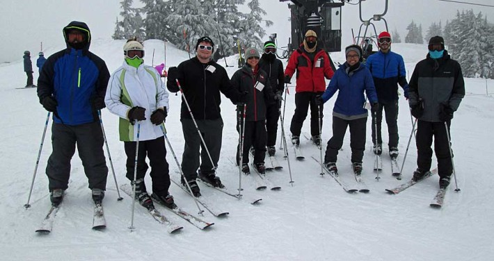 ski trip photo