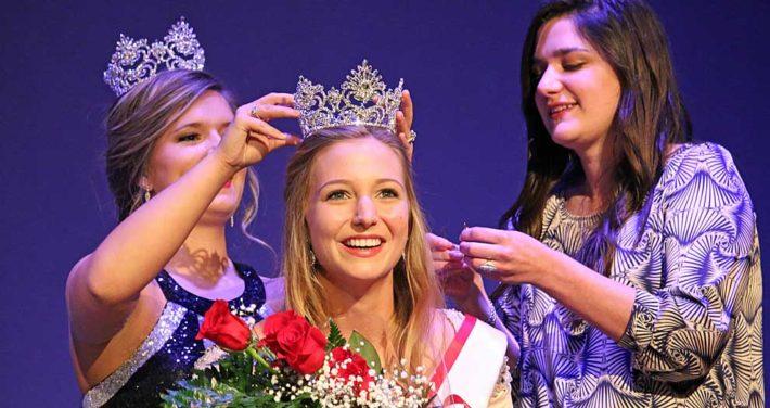Josie Waddell crowned Miss Huntingdon