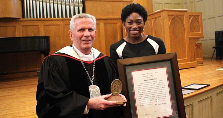 2018 Awards Convocation Honors Scholarship, Service