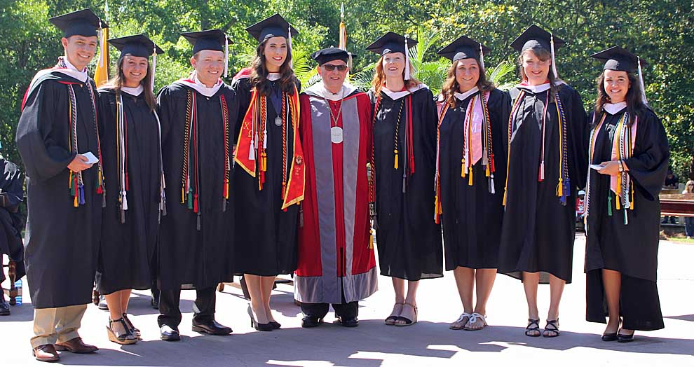 Huntingdon graduates largest class in College history