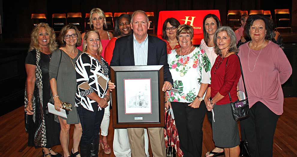 Eleven Alumni Honored during Homecoming